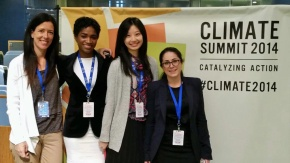 MSGA grads at Climate Summit