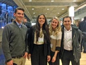 MSGA students at CU Energy Symposium 2014 (2)